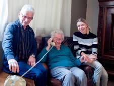 Liedjes van vroeger op de wonderfoon bij dementie