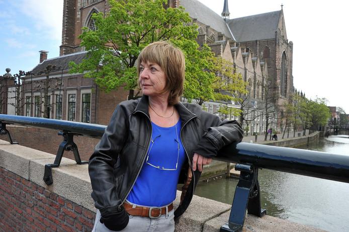 Voormalig stadsdichter Marieke van Leeuwen.