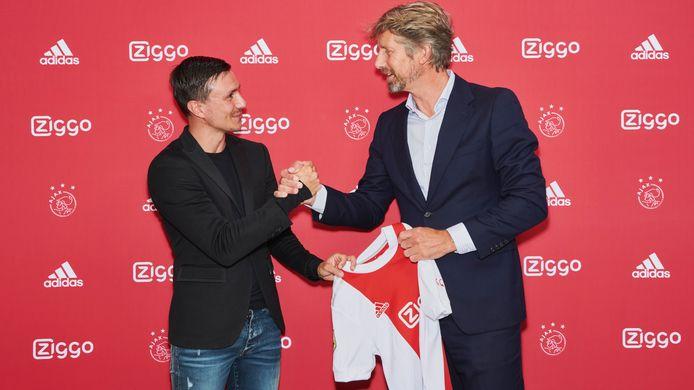 Steven Berghuis en Edwin van der Sar.