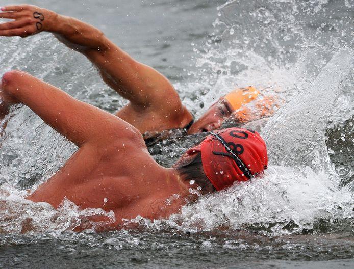 De Zwartepolder Zeezwemtocht van Breskens naar Cadzand gaat woensdagavond niet door.