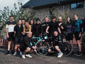 Jeugdhuis Bunker fietst meer dan 1,000 kilometer voor Kom op tegen kanker