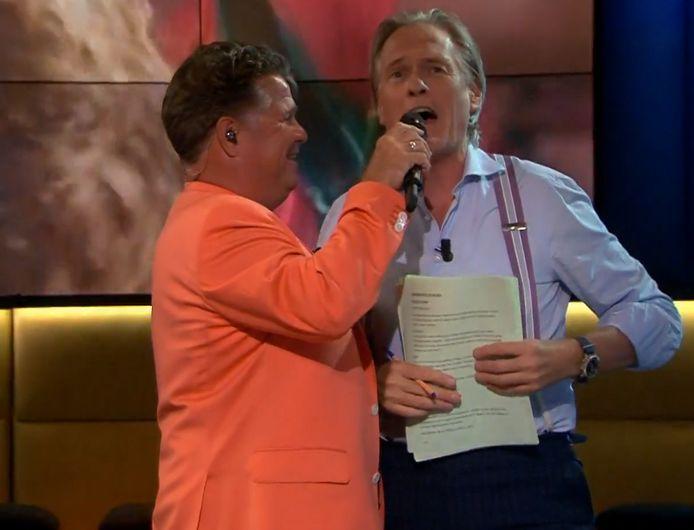 Wolter kreeg het voor elkaar Jort mee te laten zingen.