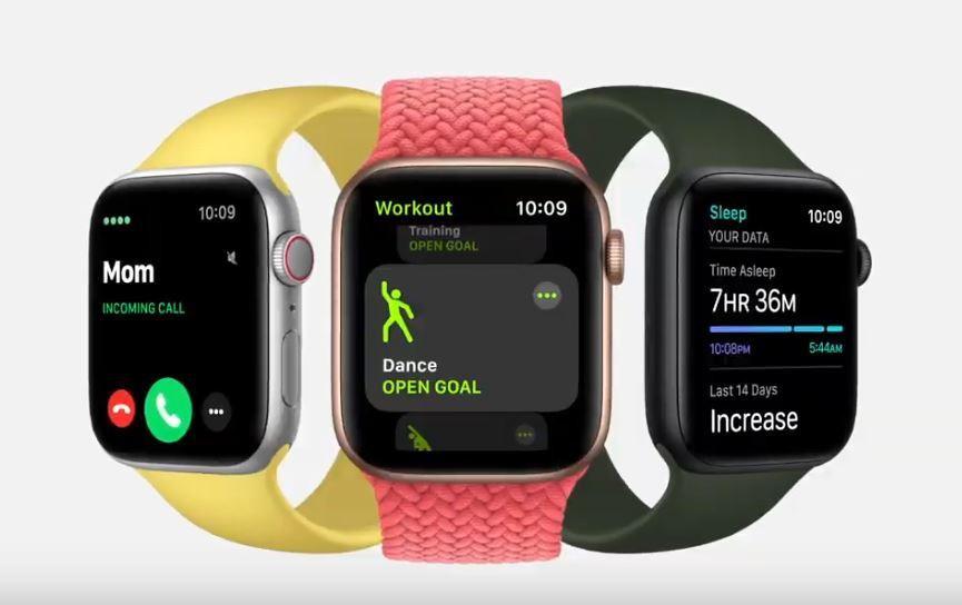 De Apple Watch SE.