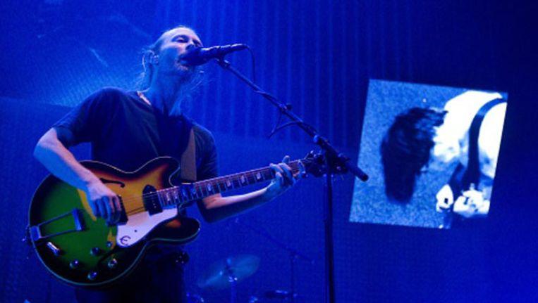 Thom Yorke van Radiohead Beeld ANP
