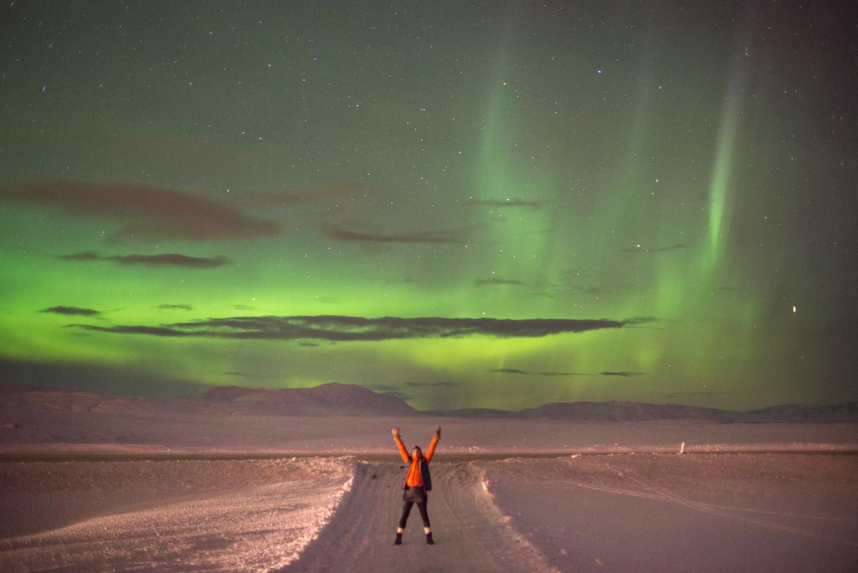 Simone de Greef is nu gids op IJsland.