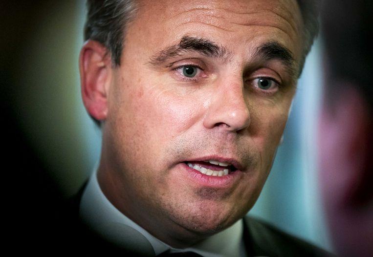 Mark Harbers, staatssecretaris van Justitie en Veiligheid.  Beeld ANP -Remko de Waal