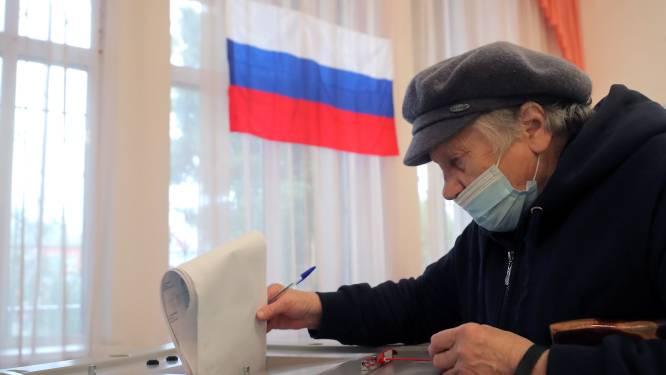 Twee derde van de zetels in de Doema gehaald: partij van Poetin claimt overwinning
