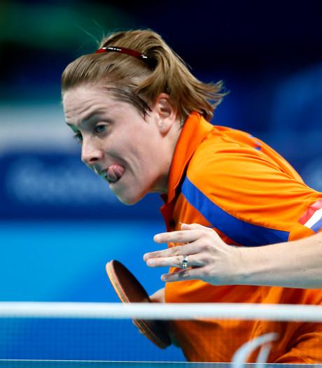 Paralympisch kampioen Kelly van Zon bij fanavond Gerald van Grunsven in Herpen