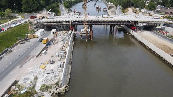 R4 wordt twee nachten afgesloten voor afbraak stellingen nieuwe Bergwijkbrug
