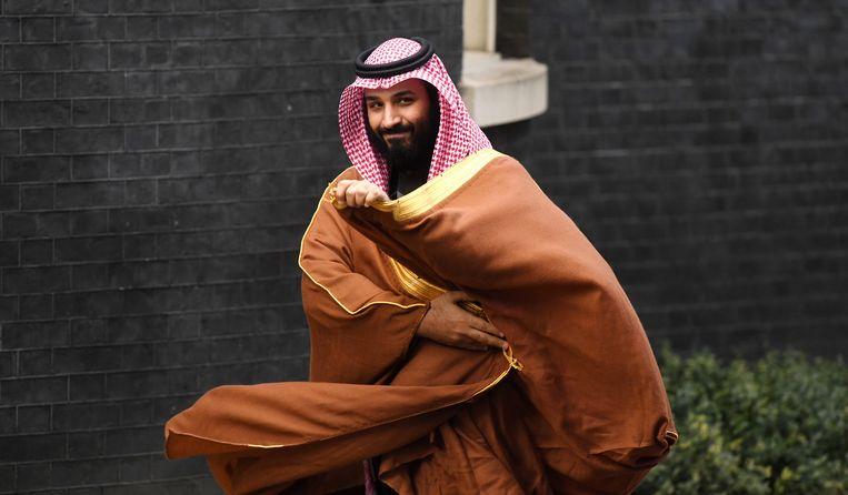 De Saoedische kroonprins Mohammad bin Salman. Beeld BSR Agency