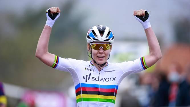 Anna van der Breggen voltooit zevensprong in de Waalse Pijl