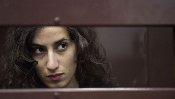 De Nederlandse activiste Faiza Oulahsen