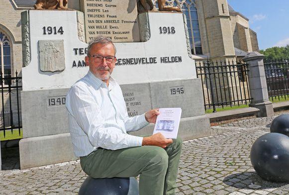 Dirk Lindemans dook de geschiedenis in voor zijn boek 'Groot Ternat tijdens de Groote Oorlog'