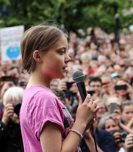 """""""Nous n'arrêterons jamais"""": Greta Thunberg face aux manifestants pour le climat à Berlin"""
