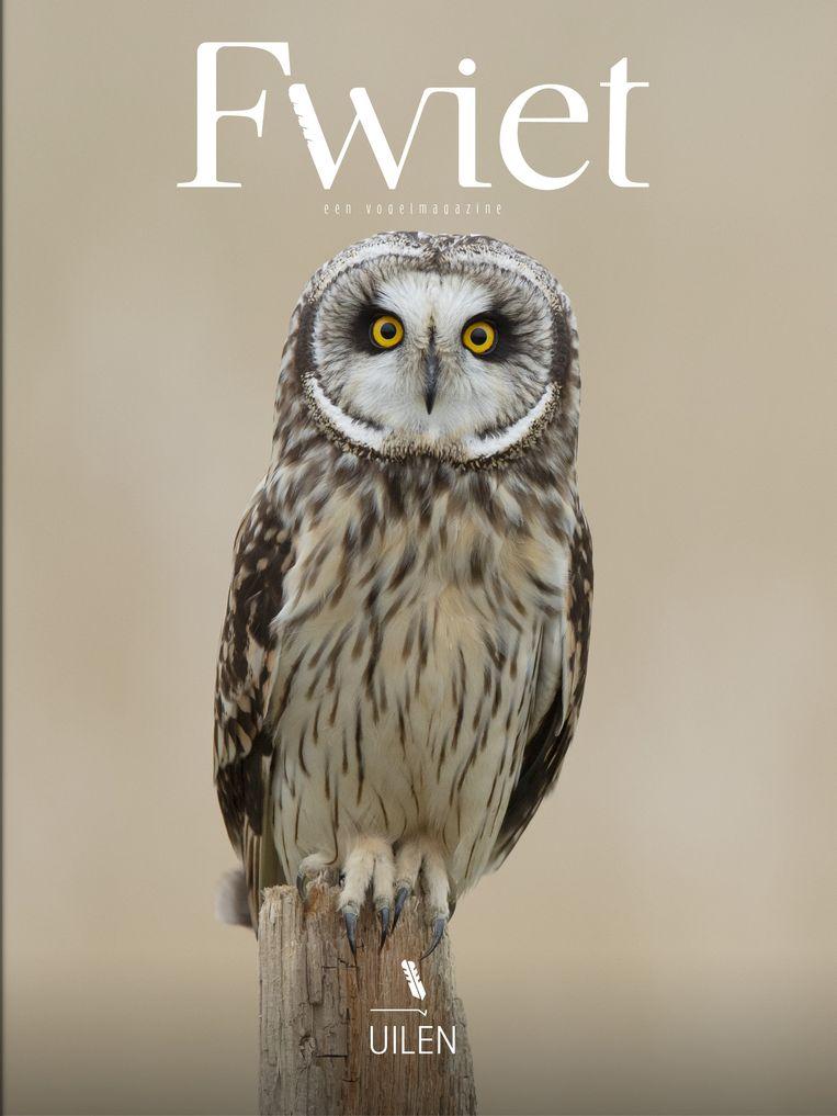De cover van het eerste nummer van Fwiet. Beeld RV