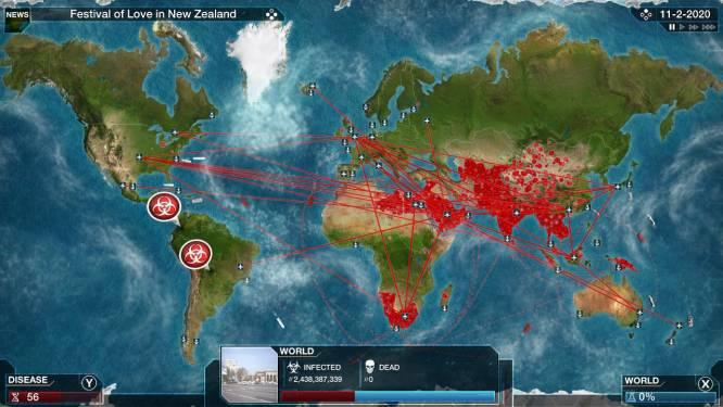 Un jeu vidéo sur une épidémie explose ses ventes grâce au coronavirus