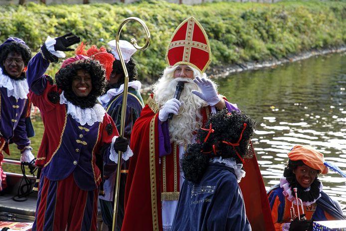 Intocht Sinterklaas in Boxtel.