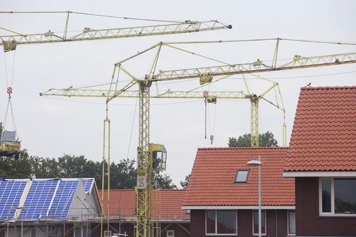 Nieuwbouw in de wijk Kernhem in Ede.
