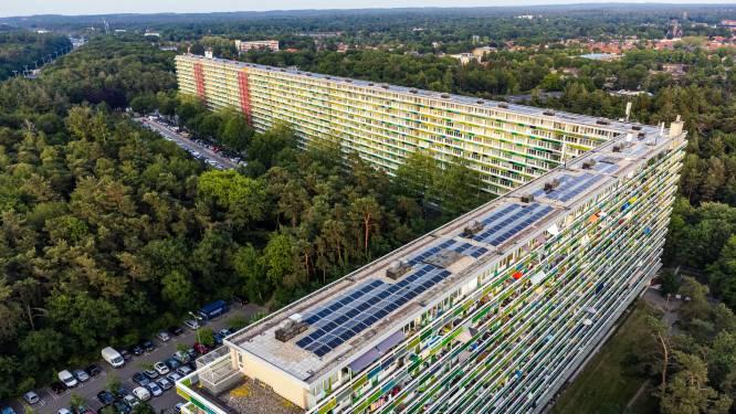 Hoe de wijk met de grootste flat van Nederland nieuwe energie krijgt