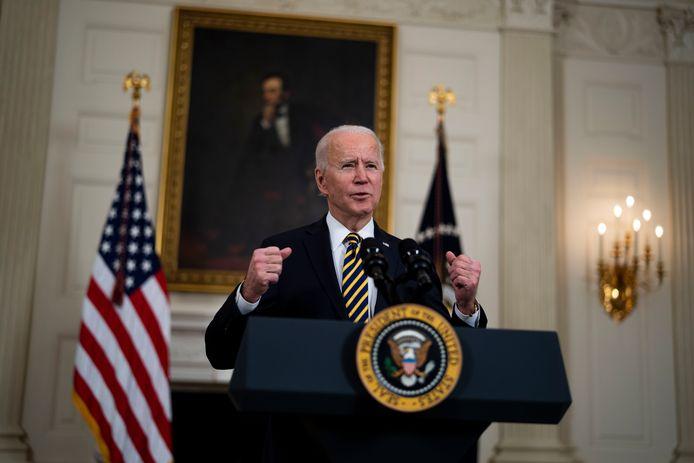 President Joe Biden van de Verenigde Staten.