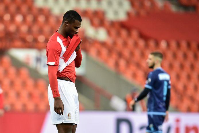 Oularé aura joué 42 matches pour les Rouches, compilant 5 buts et 2 assists. Souvent blessé, il n'est jamais réellement parvenu à s'imposer dans le onze de base liégeois.