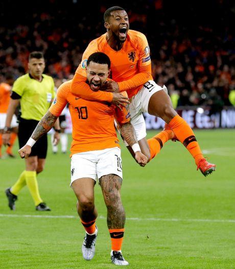 Wijnaldum en Depay in beste elftal EK-kwalificatie