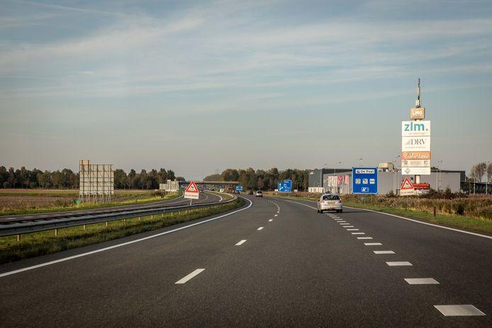 Op de Deltaweg bij Goes gaat de maximumsnelheid omlaag van 120 naar 100 kilometer per uur