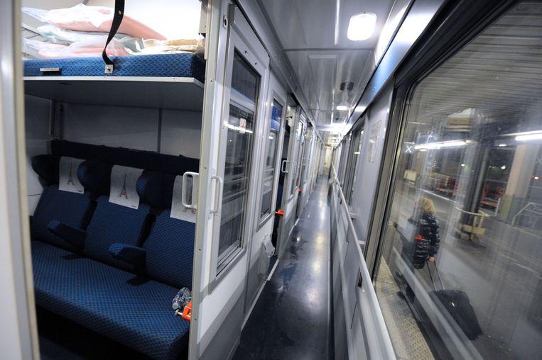 Nachttreinen zijn weer helemaal terug in Europa.  Beeld AFP
