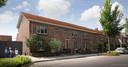 Zo kunnen deze woningen op de Oude Bathmenseweg in Rivierenwijk eruit gaan zien na de renovaties.