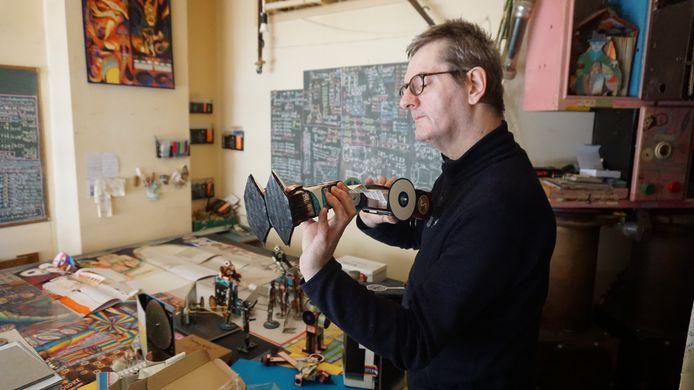 L'artiste bruxellois, Michel Goyon, est au Vecteur à Charleroi