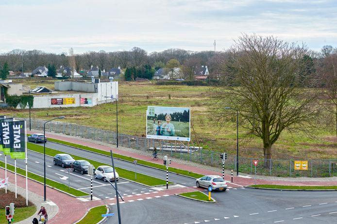 Het zogeheten Land van Dico in Uden. De bouw start in mei 2019.