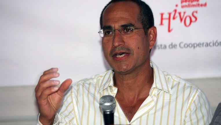 Gonzalo la Cruz: 'We hoeven ons niet te schamen om in Panama te zitten.' Beeld
