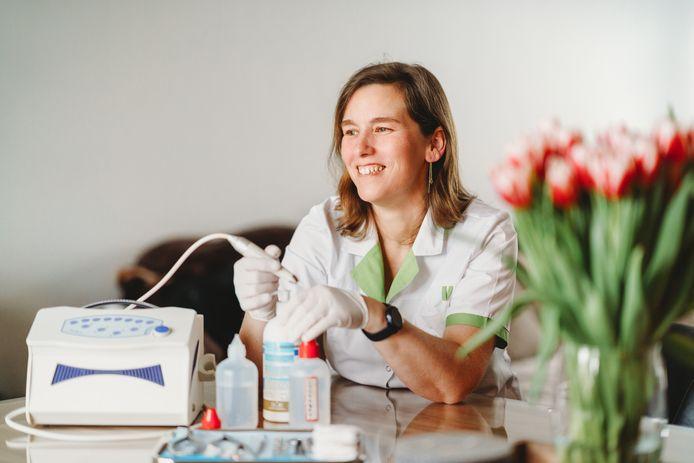 Annick Iterbeke van Feet Solutions, medische pedicures.