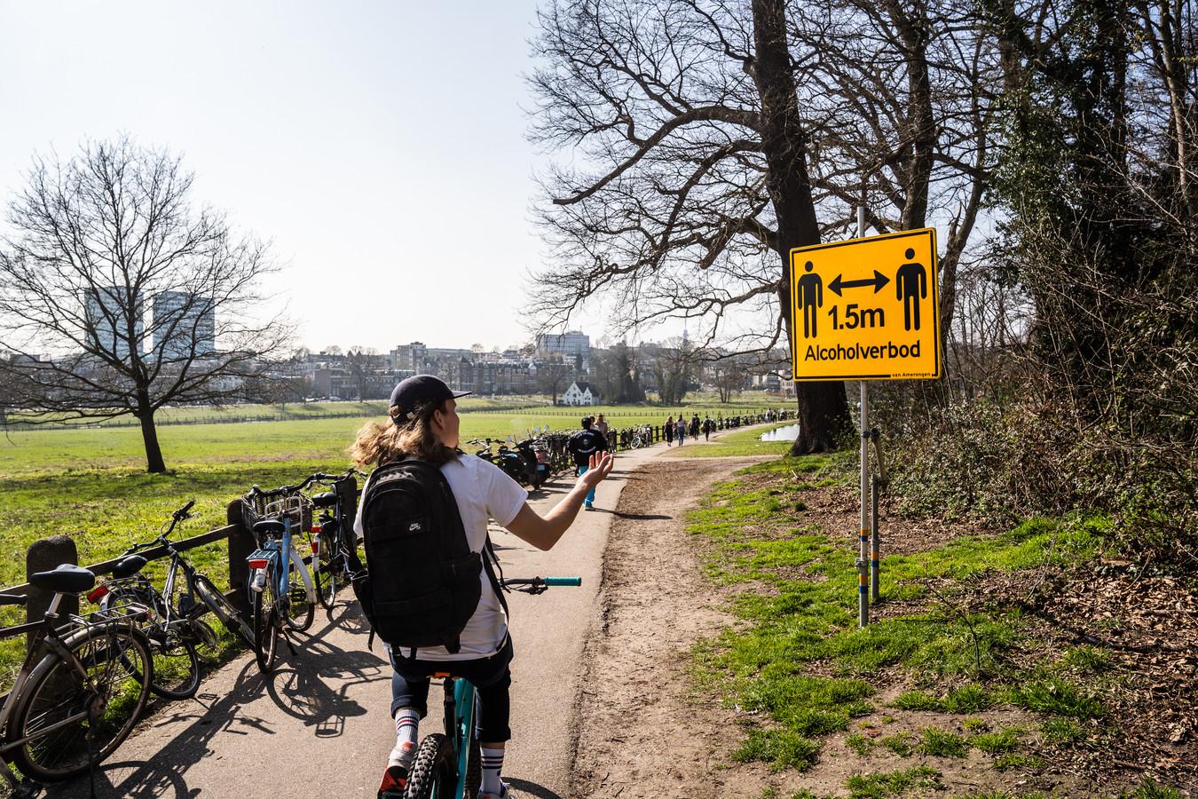In het voorjaar werd er ook al een alcoholverbod afgekondigd in het Arnhemse Sonsbeekpark.