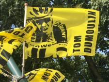 Geen gele trui, wel gele vlaggen voor Dumoulin in Boxmeer
