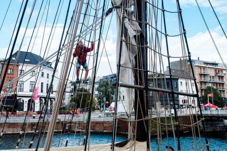 Water-rAnt verzamelt honderd authentieke schepen van Antwerpen, van de haven en uit de Scheldedelta.
