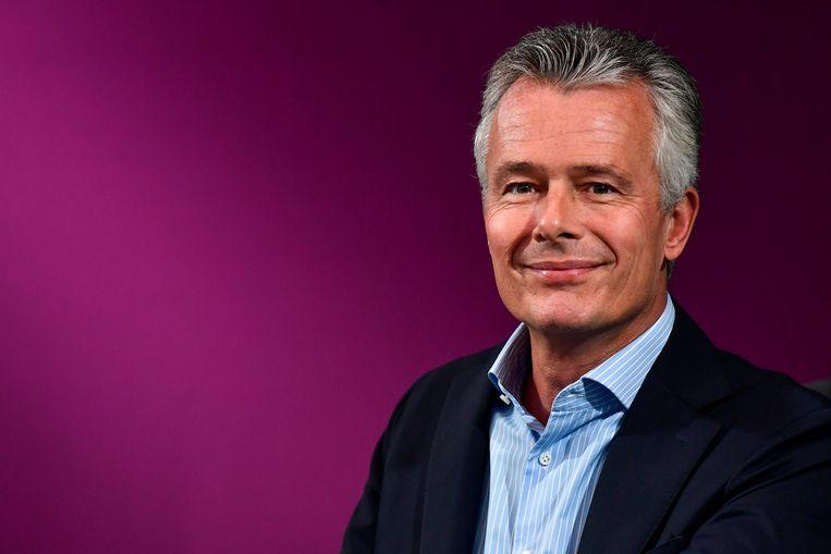 Christian Van Thillo is voorzitter van de European Publishers Council. Beeld BELGA