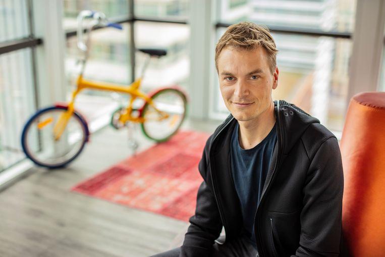 Tim van de Rijdt coördineert de uitrol van de Google Assistant in heel Noord-Europa. Beeld rv