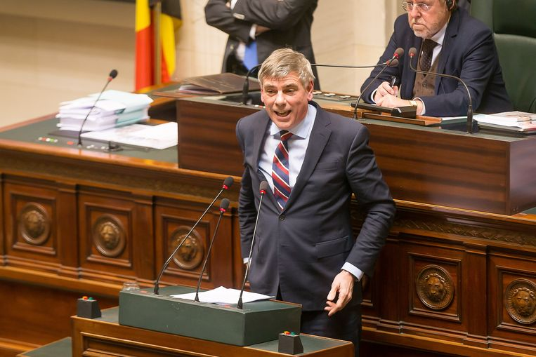 Filip Dewinter (Vlaams Belang) Beeld BELGA