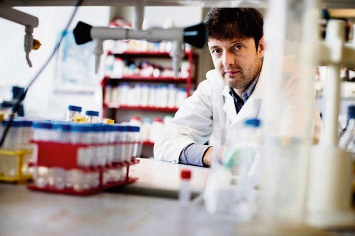 Bio-informaticus en wereldautoriteit op het vlak van darmflora-onderzoek Jeroen Raes (KU Leuven).