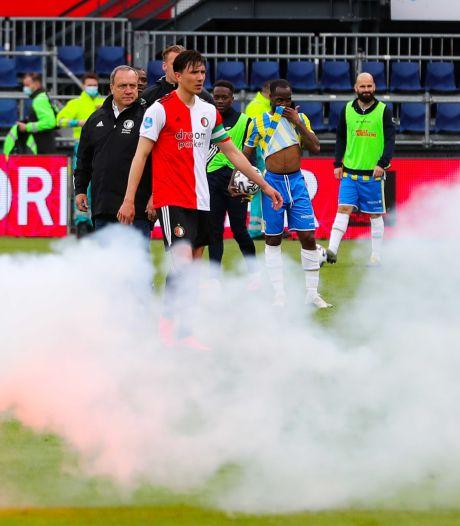 Advocaat en Berghuis verbaasd over muitende fans in de Kuip: 'Ik schrok er wel van'