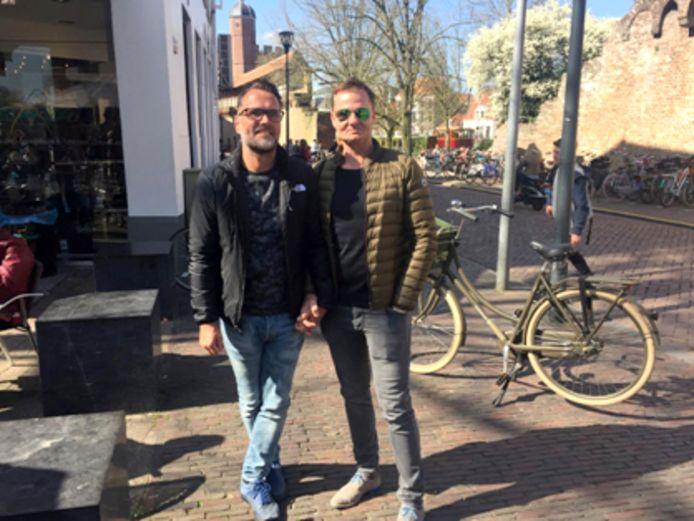 Kai Sibbers (55) Frank Jansen (44 jaar) uit Soest.