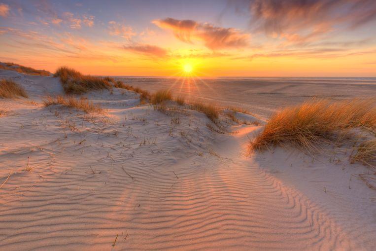 Mooiste stranden Nederland Beeld Getty Images