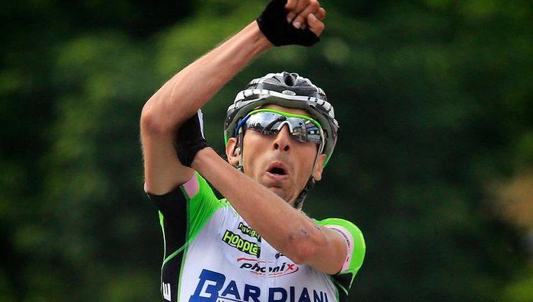 Stefano Pirazzi in 2014 nog goed voor een ritzege in de Giro. Beeld Photonews