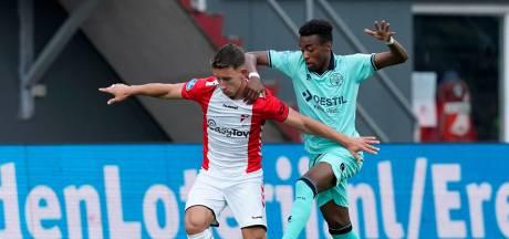 FC Emmen houdt met tien man stand tegen Willem II