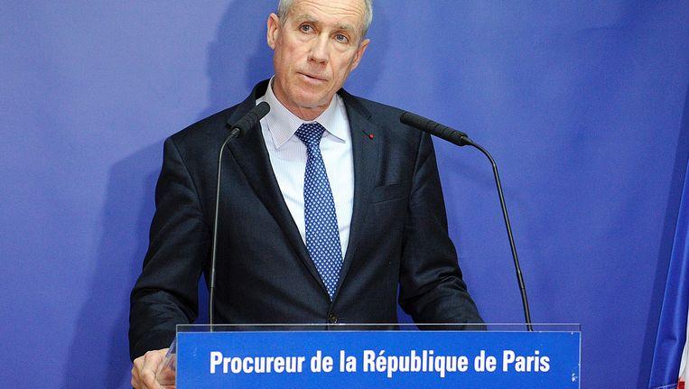 De procureur van Parijs François Molins Beeld AFP