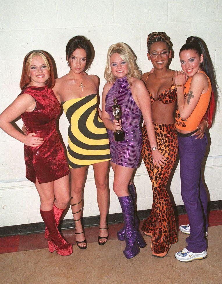 De Spice Girls in 1995. Beeld Getty Images