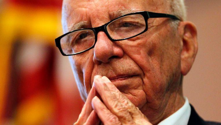 Mediatycoon Robert Murdoch Beeld Reuters
