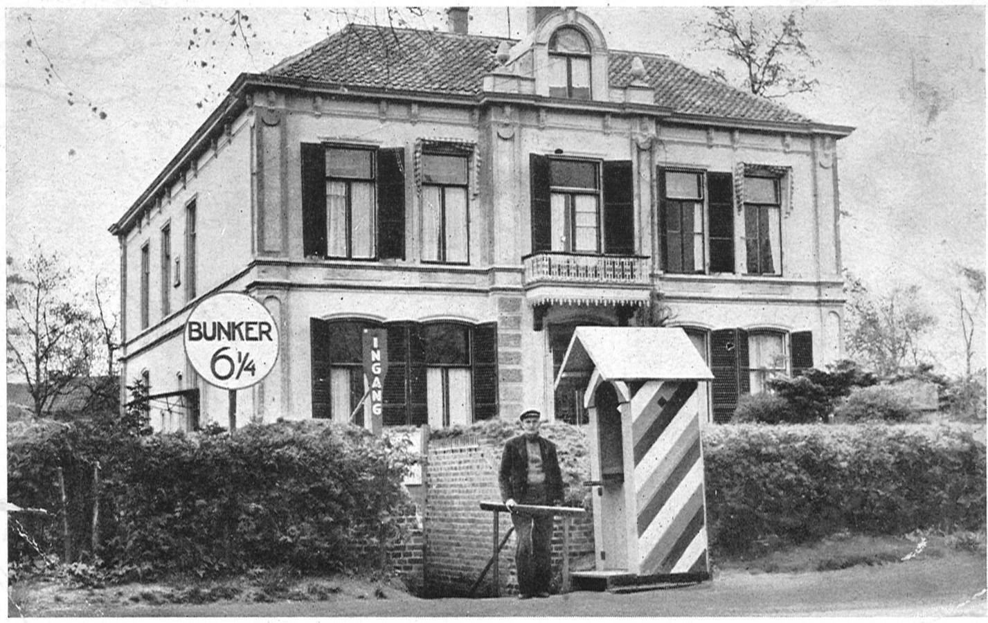 Het voormalige buitenverblijf en de bunker van Arthur Seyss-Inquart. Seyss-Inquart in Apeldoorn