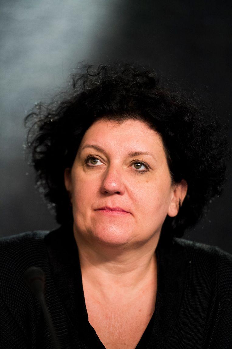 Annemie Turtelboom (Open Vld) is een van de leden van de Europese Rekenkamer. Beeld BELGA